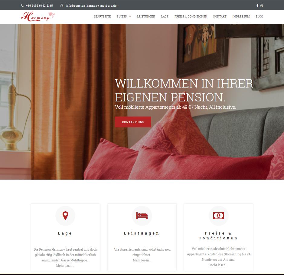 Unsere neue website ist fertig!